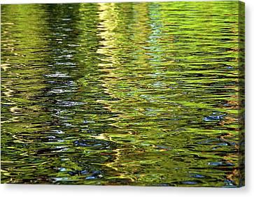 Eternal Flow Canvas Print - Reams Of Light by Lynda Lehmann
