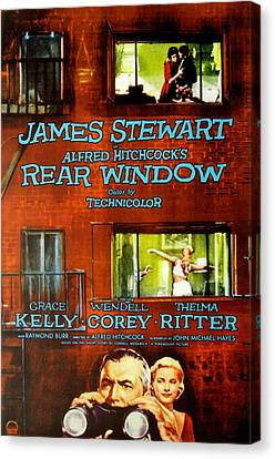 Rear Window, Grace Kelly, James Canvas Print by Everett