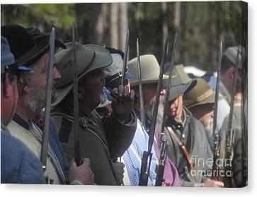 Rebel Bayonets Canvas Print by David Lee Thompson