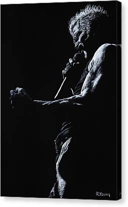 Idols Canvas Print - Rebel Yell 1 by Richard Young