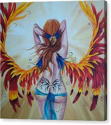 Rebirth Canvas Print by Heather Valentin