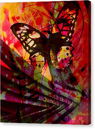 Canvas Print featuring the photograph reBirth by Ken Walker