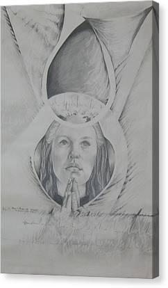 Reborn Canvas Print by Carrie Maurer