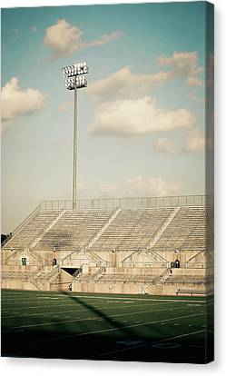 Canvas Print featuring the photograph Recalling High School Memories by Trish Mistric
