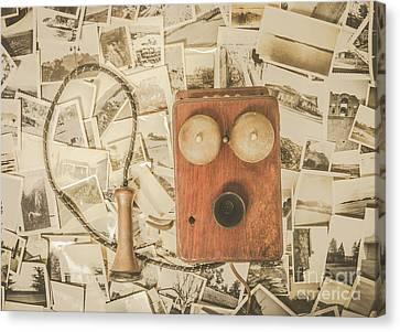 Recalling Memories Canvas Print