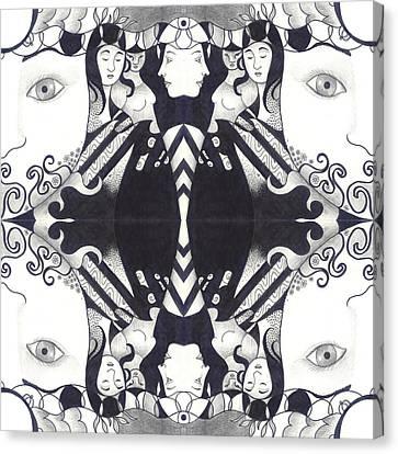 Recalling The Goddess 3 Canvas Print