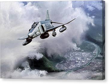 Recce Rebel Canvas Print by Peter Chilelli