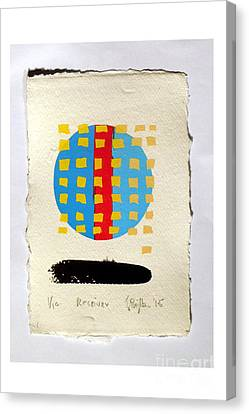 Component Canvas Print - Receiver. by Timothy Beighton