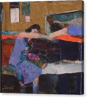 Reclining Canvas Print