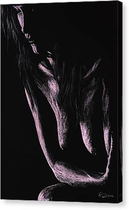 Semi-nude Canvas Print - Recollections by Richard Young