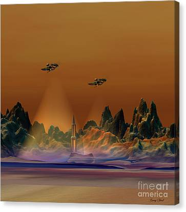Recon Canvas Print by Corey Ford