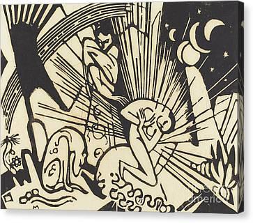 Reconciliation Canvas Print by Franz Marc