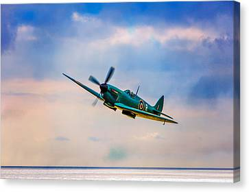 Reconnaissance Spitfire Canvas Print by Chris Lord