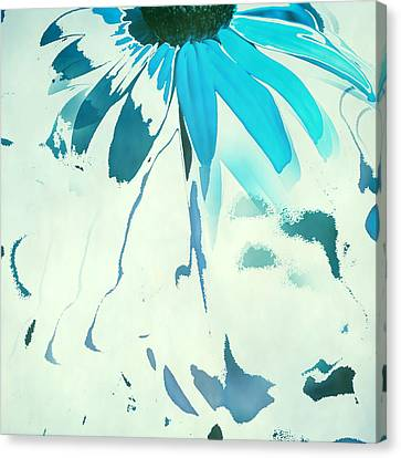 Reconstructed Flower No4 Canvas Print