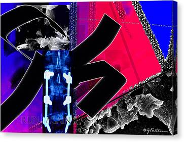 Recovery 2 Canvas Print by Janis Kirstein
