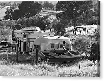 Recreational Vehicles Chinese Camp Canvas Print