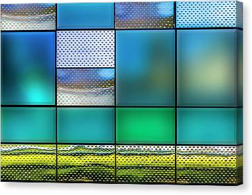 Canvas Print featuring the photograph Rectangles by Paul Wear