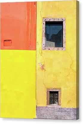Canvas Print featuring the photograph Rectangles by Silvia Ganora