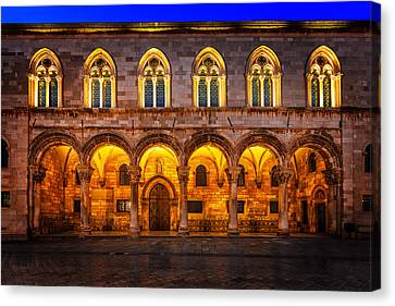 Rectors Palace, Dubrovnik, Croatia Canvas Print by Nico Trinkhaus