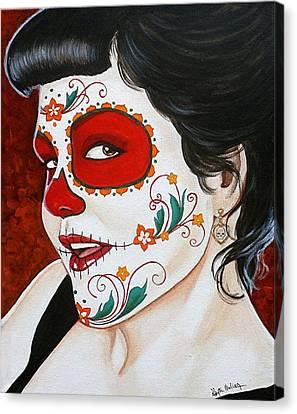 Recuerdos En Rojo  Canvas Print