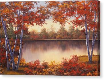 Red And Gold Canvas Print