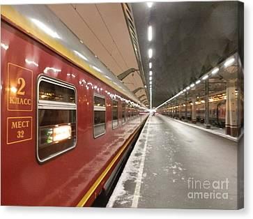 Red Arrow Express Canvas Print