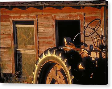 Red At Night Is Farmers Delight Canvas Print by Jerry McElroy