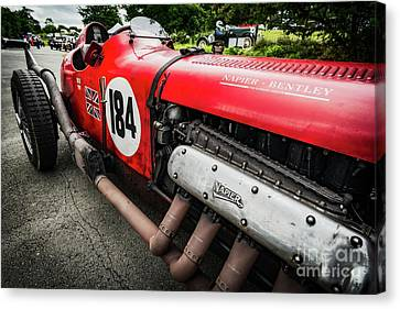 Red Bentley Canvas Print