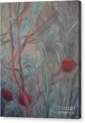 Red Berries I Canvas Print by Sabina Haas