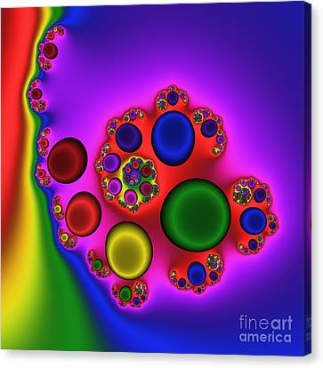Red Blood Cells 215 Canvas Print by Rolf Bertram