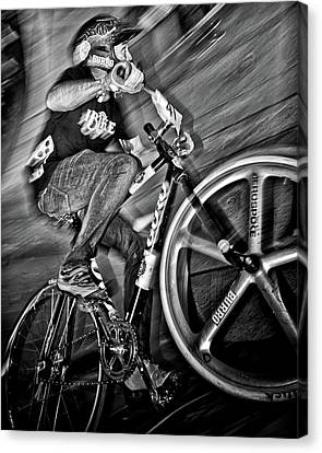 Red Bull Mini Drome Race Day Toronto Canada Canvas Print