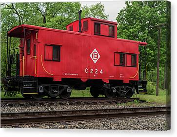 Red Caboose C224 New Jersey Canvas Print