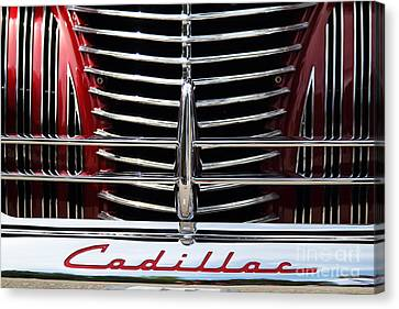 Red Cad Canvas Print by Dennis Hedberg