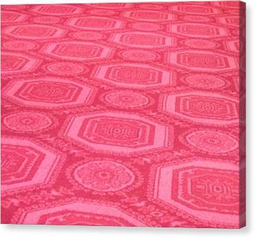 Red Carpet Canvas Print by Joshua Sunday