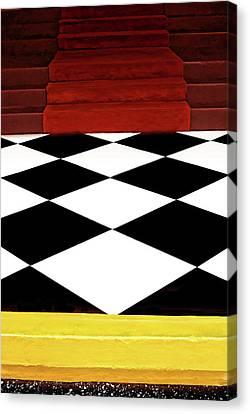Red Carpet Treatment Canvas Print