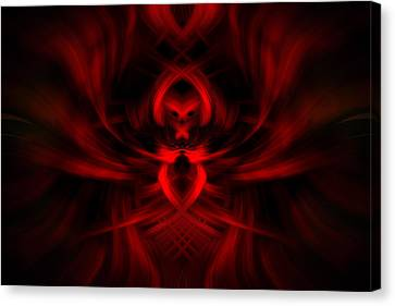 RED Canvas Print by Cherie Duran