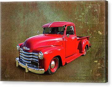 Red Chev Canvas Print by Keith Hawley
