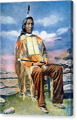 Red Cloud (1822-1909) Canvas Print by Granger