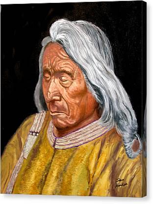 Red Cloud Canvas Print by Stan Hamilton