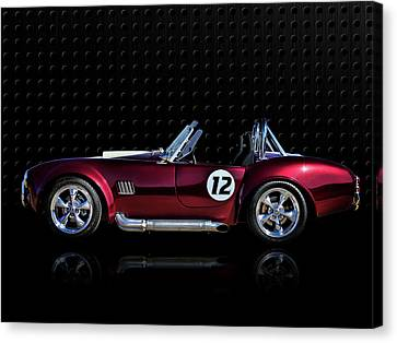 Red Cobra Canvas Print by Douglas Pittman