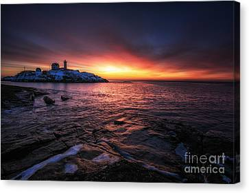 Red Dawn Canvas Print by Scott Thorp