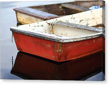 Red Dingy Canvas Print