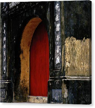 Red Doorway Canvas Print by Shaun Higson