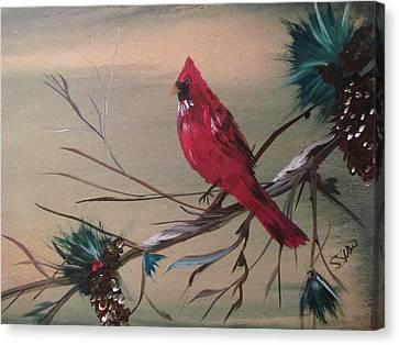 Red Drifter Canvas Print