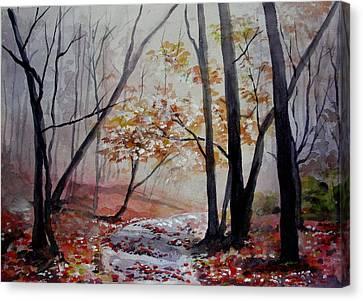 Red Evrywhere  Canvas Print
