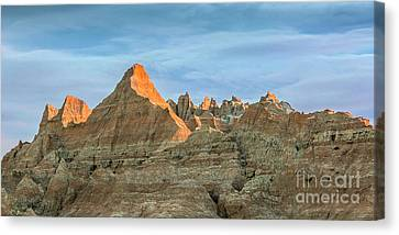 Red Faced Panorama Canvas Print