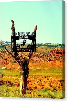 Canvas Print featuring the photograph Red Fork Ranch by Antonia Citrino