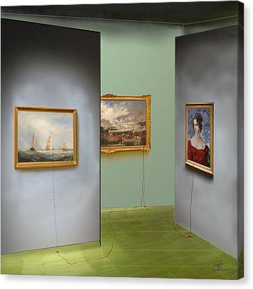 Red Gallery Canvas Print