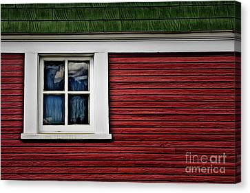 Canvas Print featuring the photograph Red Green by Brad Allen Fine Art