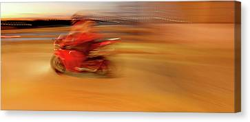 Red Hot Canvas Print by Glennis Siverson